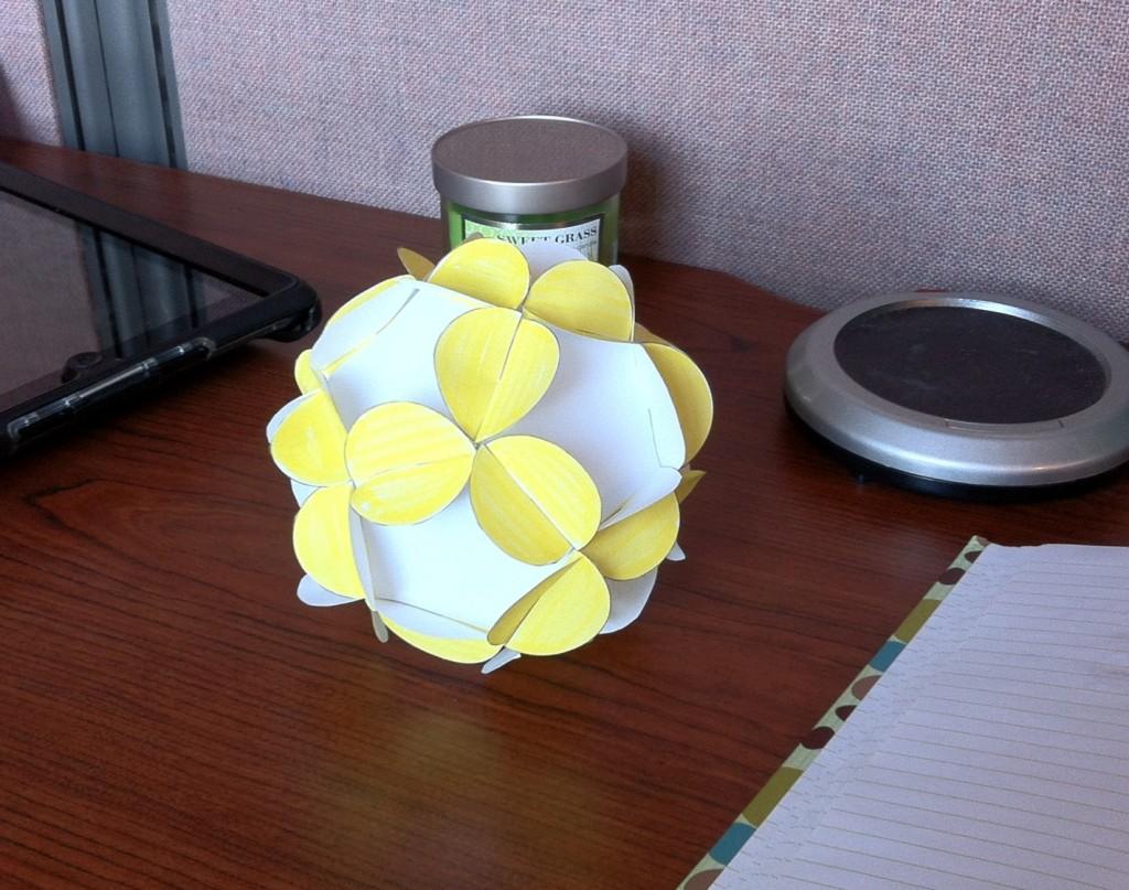 Papercraft Paper ball
