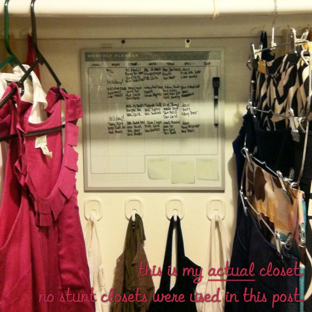 Laura's closet