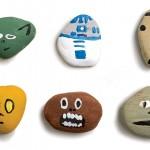 Star Wars painted rocks