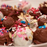 Chocolate-Dipped Oreo Truffles Sprinkles