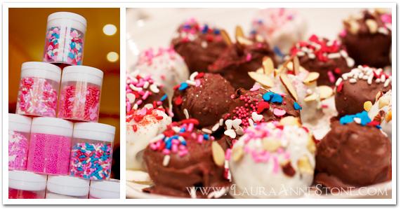 Chocolate-Dipped Oreo Truffles Sprinkles