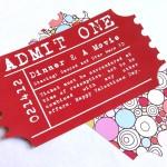J's Valentine Ticket