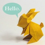 Origami Rabbit by Maekawa
