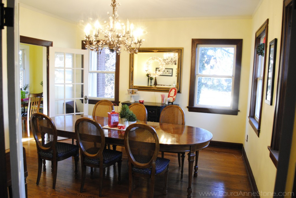 2013 Holiday Dining Room - LauraAnneStone.com