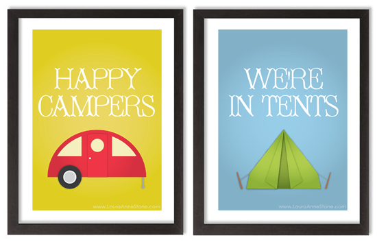 Happy Campers | We're In Tents