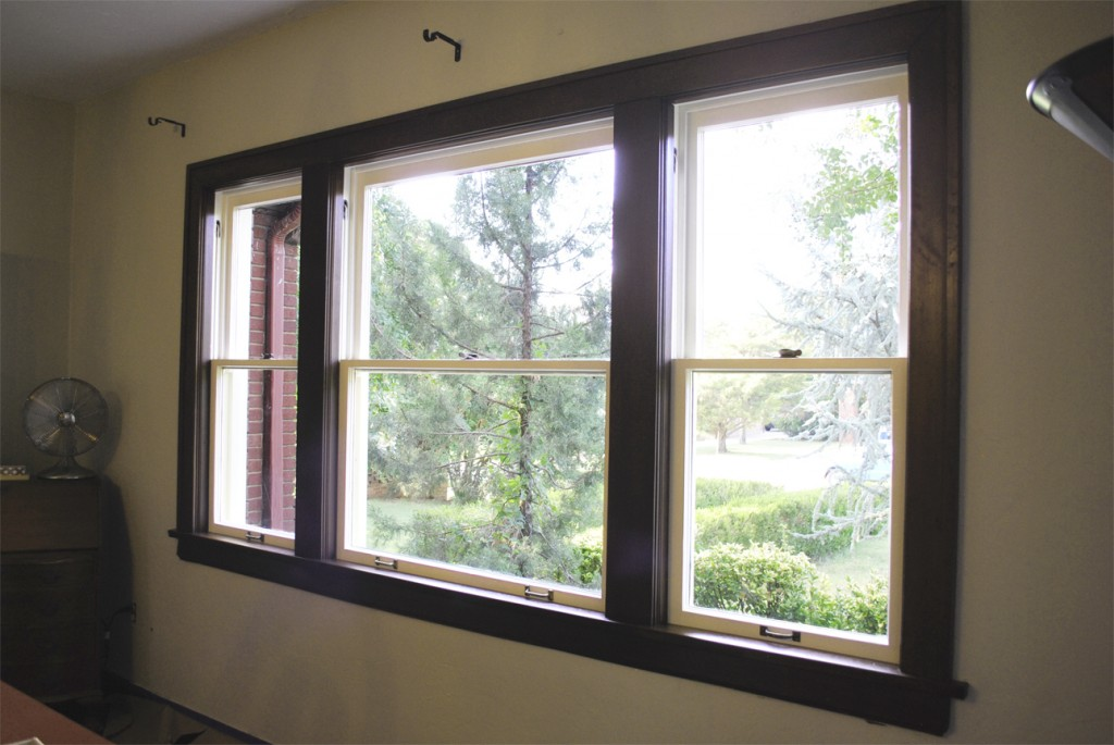 Antique Wood Window Reoair - www.LauraAnneStone.com