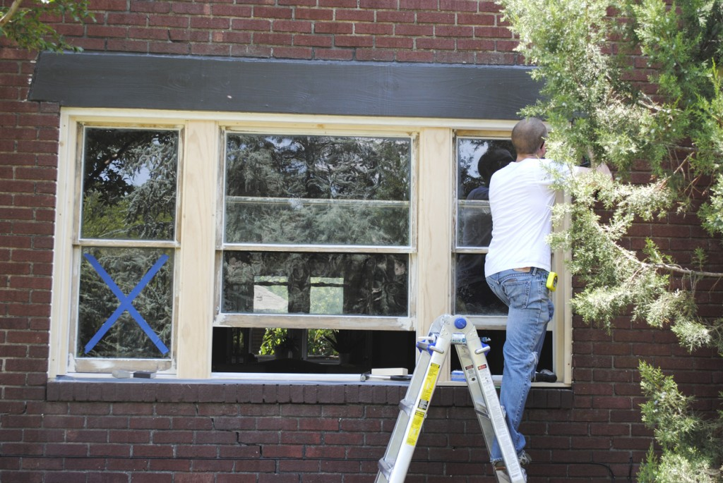 Windows Pt 4 Sash And Exterior Trim Installation Laura Anne Stone