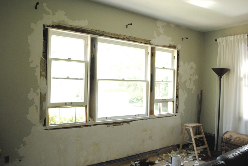 Historic Plaster Wall Repair - www.LauraAnneStone.com