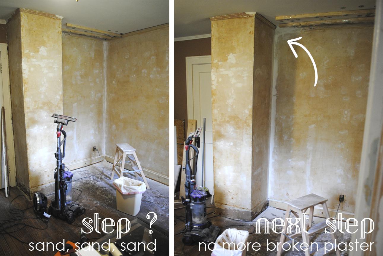 repairing historic plaster
